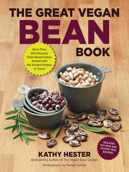 Title details for The Great Vegan Bean Book by Kathy Hester - Wait list