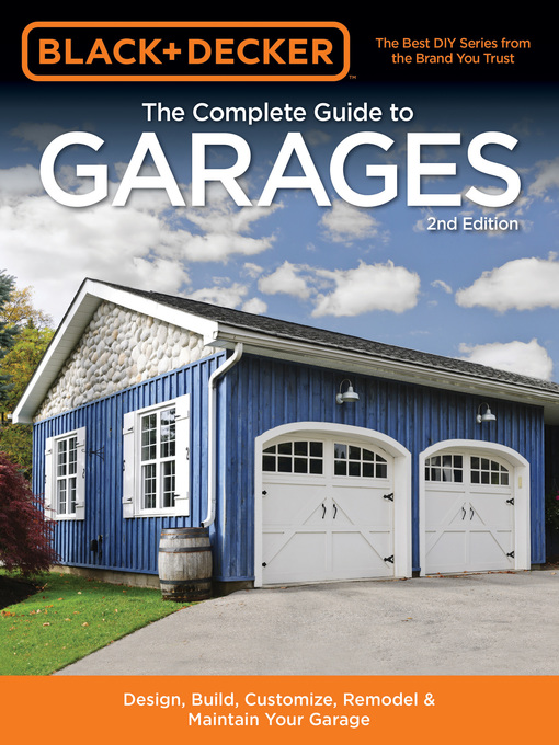 Cover of Black & Decker The Complete Guide to Garages