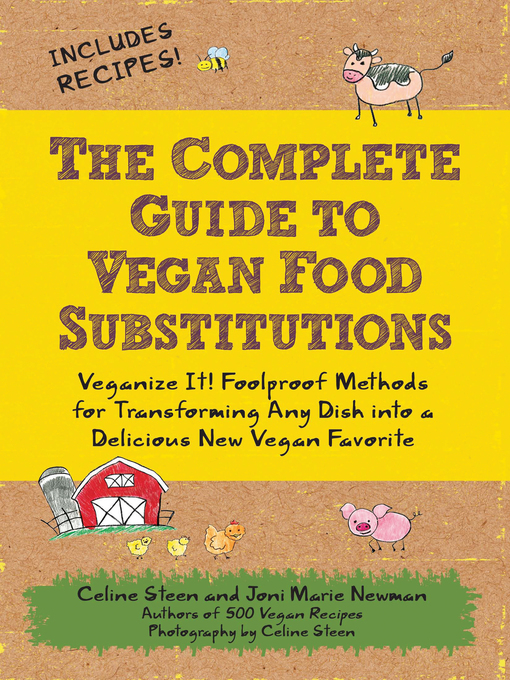 Cover image for The Complete Guide to Vegan Food Substitutions