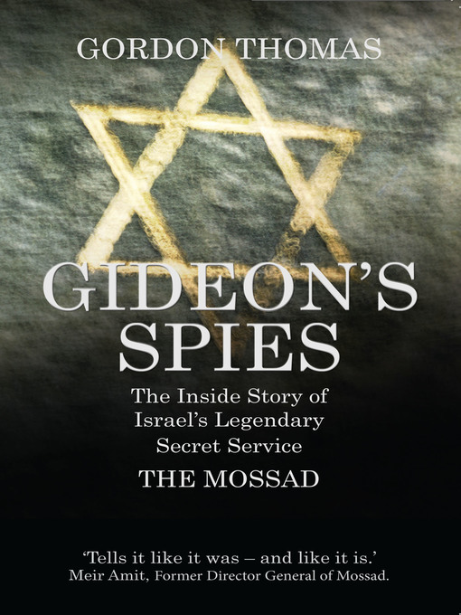 Title details for Gideon's Spies by Gordon Thomas - Available