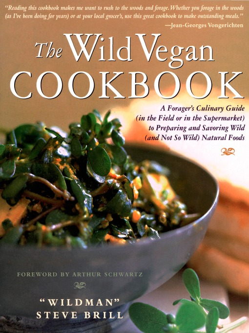 Title details for The Wild Vegan Cookbook by Steve Brill - Wait list