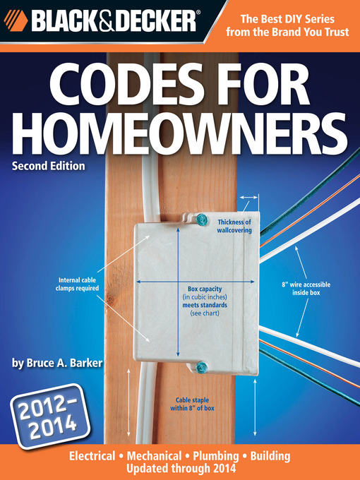 Title details for Black & Decker Codes for Homeowners by Bruce Barker - Available