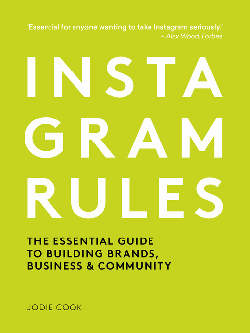 Title details for Instagram Rules by Jodie Cook - Available