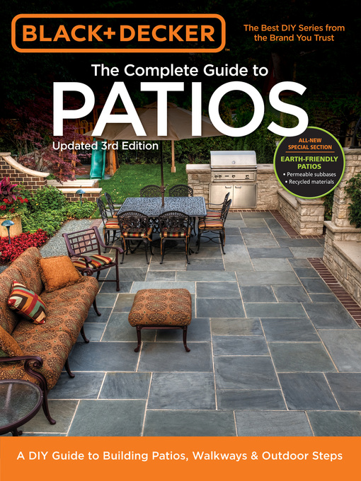 Title details for Black & Decker Complete Guide to Patios-- by Editors of Cool Springs Press - Available