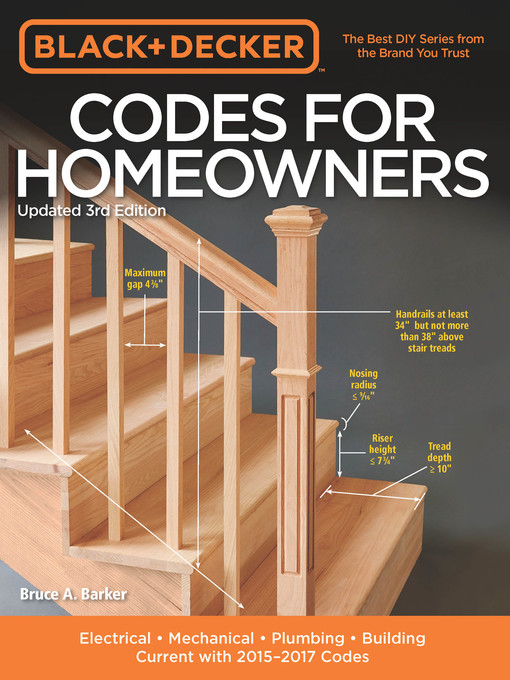 Title details for Black & Decker Codes for Homeowners by Bruce A. Barker - Available