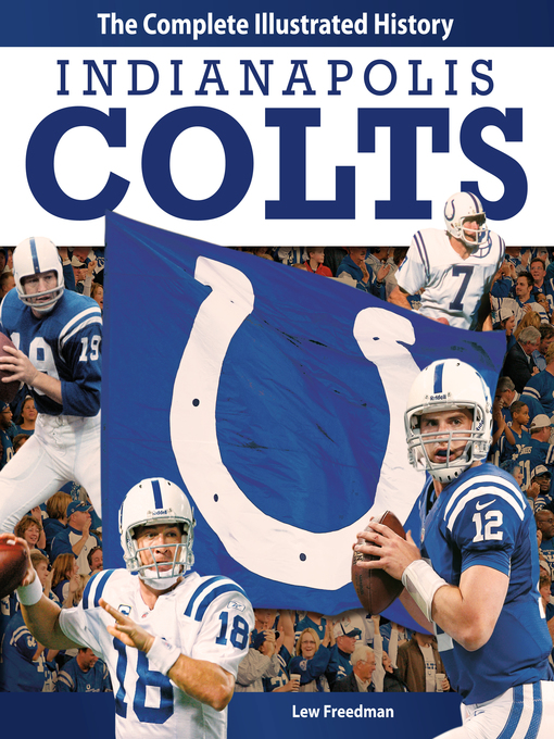 Title details for Indianapolis Colts by Lew Freedman - Available