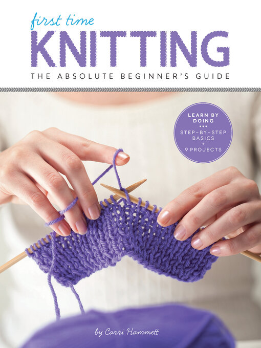 Title details for First Time Knitting by Carri Hammett - Available