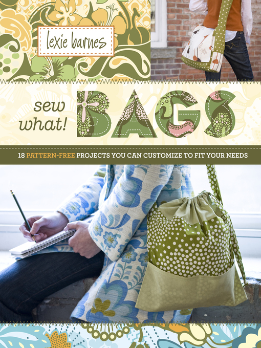 Title details for Sew What! Bags by Lexie Barnes - Wait list