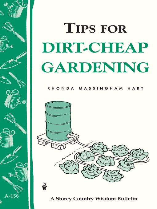 Title details for Tips for Dirt-Cheap Gardening by Rhonda Massingham Hart - Available