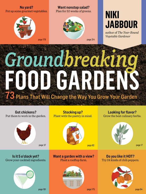 Title details for Groundbreaking Food Gardens by Niki Jabbour - Available