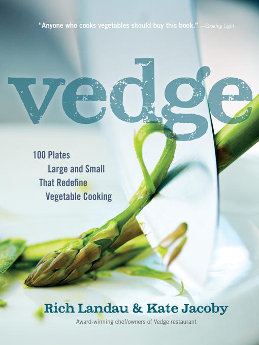 Title details for Vedge by Rich Landau - Wait list