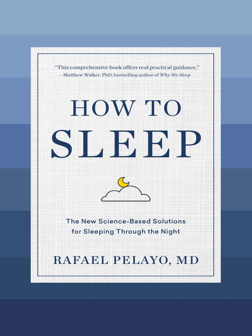 Title details for How to Sleep by Rafael Pelayo - Wait list