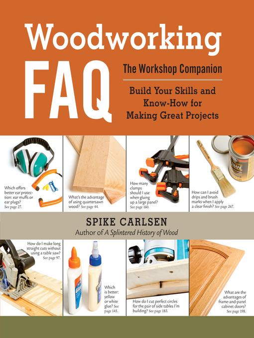 Title details for Woodworking FAQ by Spike Carlsen - Wait list