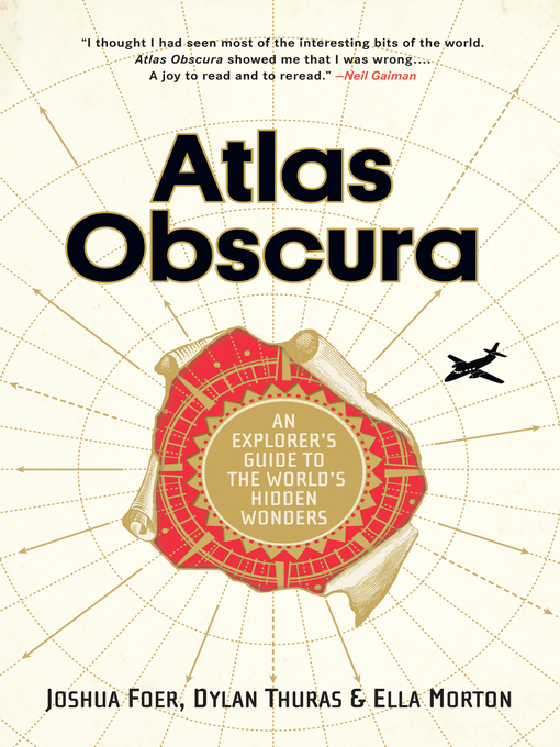 Title details for Atlas Obscura by Joshua Foer - Wait list