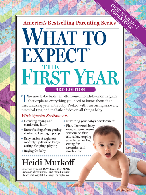 Title details for What to Expect the First Year by Heidi Murkoff - Available