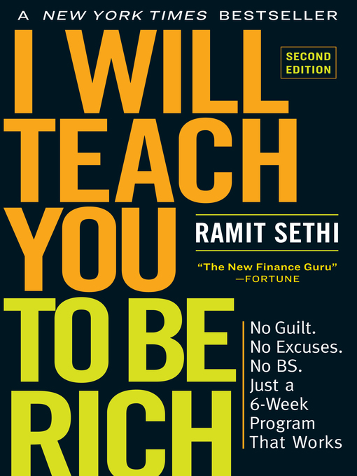 Title details for I Will Teach You to Be Rich by Ramit Sethi - Available