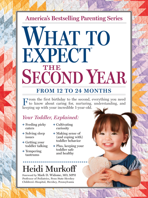 Title details for What to Expect the Second Year by Heidi Murkoff - Wait list