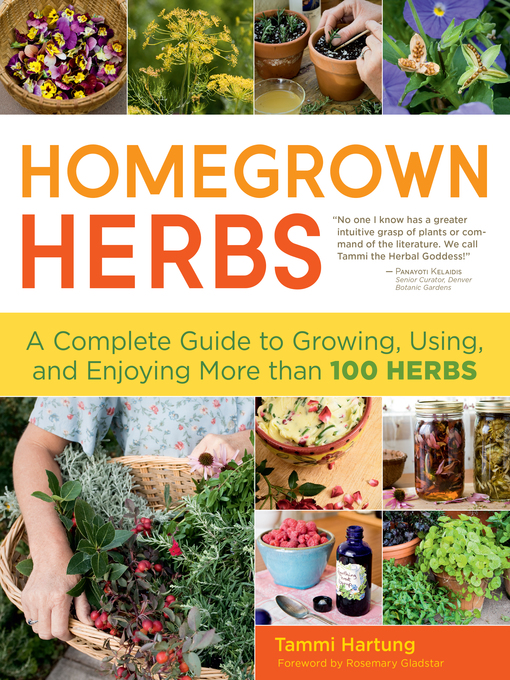 Title details for Homegrown Herbs by Rosemary Gladstar - Wait list