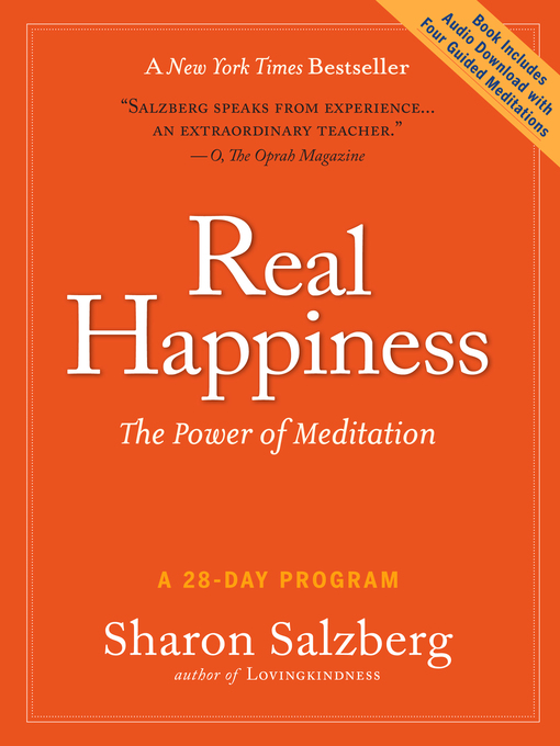 Title details for Real Happiness by Sharon Salzberg - Wait list