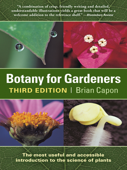 Title details for Botany for Gardeners by Brian Capon - Available