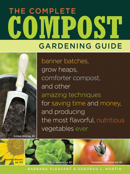 Title details for The Complete Compost Gardening Guide by Deborah L. Martin - Wait list