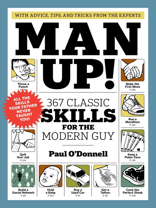 Title details for Man Up! by Paul O'Donnell - Available