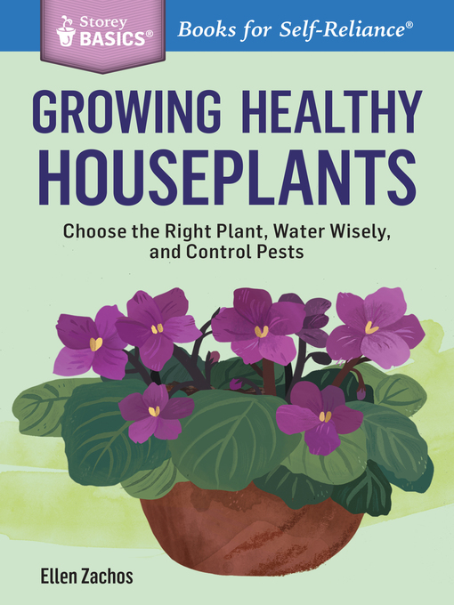 Title details for Growing Healthy Houseplants by Ellen Zachos - Wait list