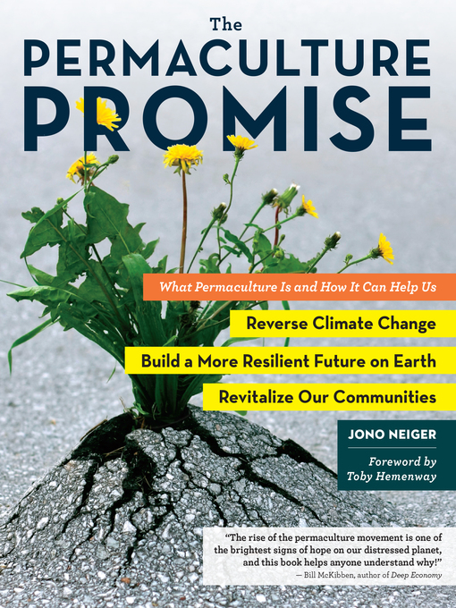 Title details for The Permaculture Promise by Jono Neiger - Wait list