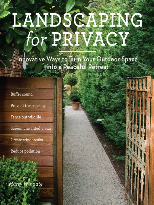 Title details for Landscaping for Privacy by Marty Wingate - Available
