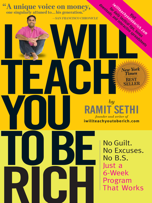 Title details for I Will Teach You to Be Rich by Ramit Sethi - Wait list
