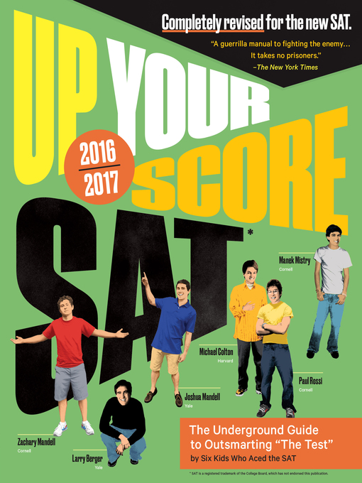 Cover of Up Your Score