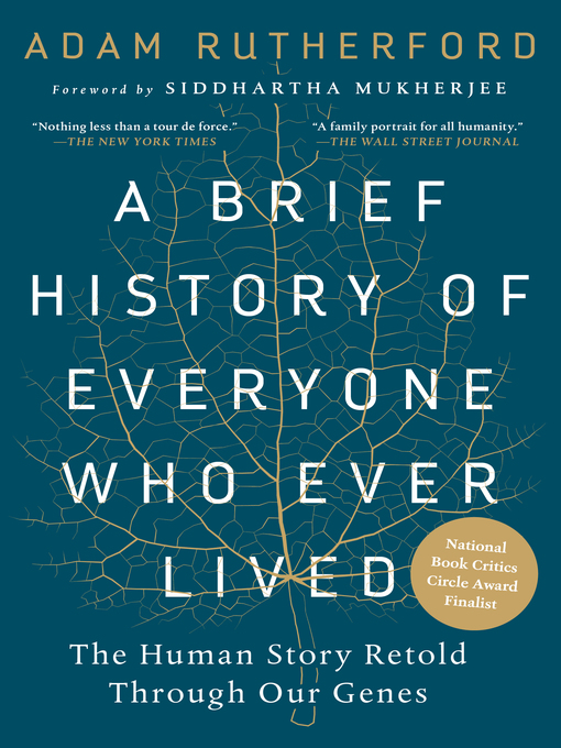 Title details for A Brief History of Everyone Who Ever Lived by Adam Rutherford - Available