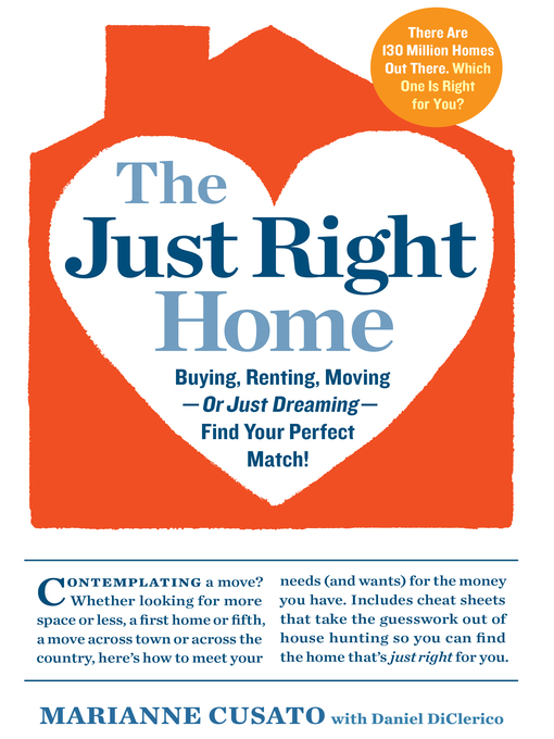 Cover of The Just Right Home