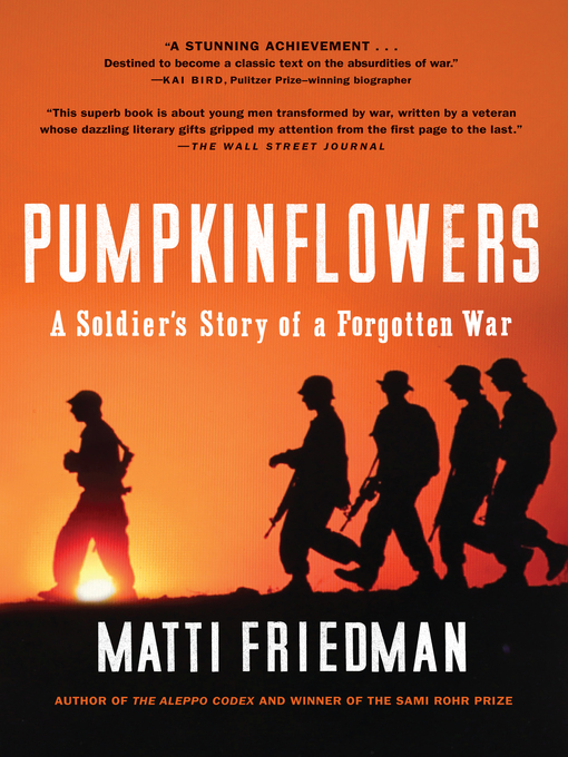 Title details for Pumpkinflowers by Matti Friedman - Available