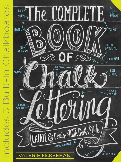 Title details for The Complete Book of Chalk Lettering by Valerie McKeehan - Available