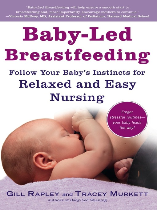 Title details for Baby-Led Breastfeeding by Gill Rapley - Wait list