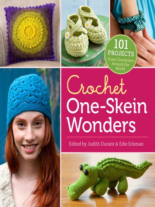 Title details for Crochet One-Skein Wonders by Judith Durant - Wait list