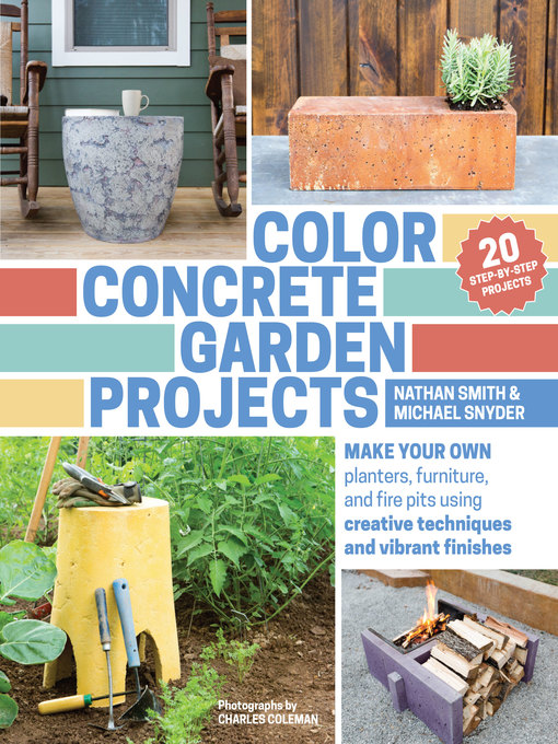 Title details for Color Concrete Garden Projects by Nathan Smith - Wait list