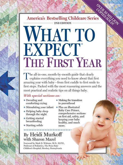 Title details for What to Expect the First Year by Heidi Murkoff - Wait list