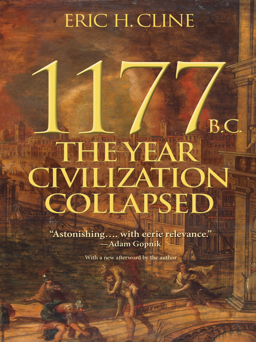 Title details for 1177 B.C. by Eric H. Cline - Wait list