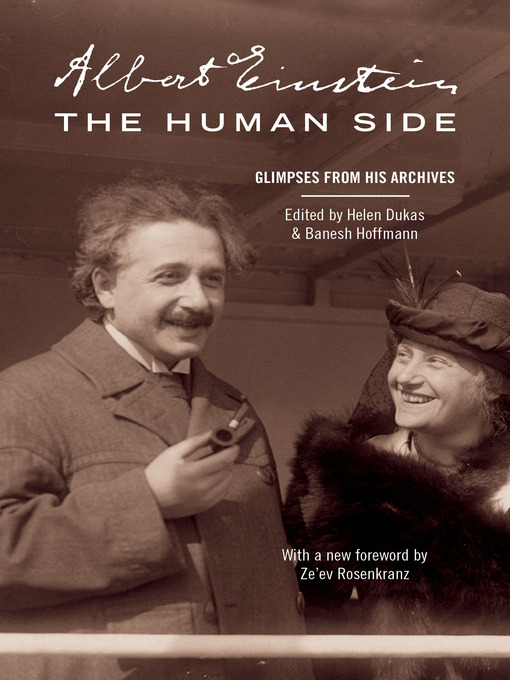 Title details for Albert Einstein, The Human Side by Albert Einstein - Available