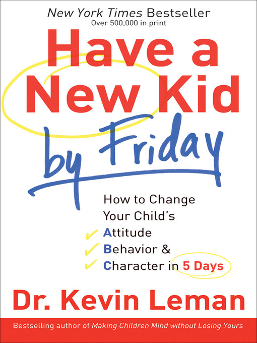 Title details for Have a New Kid by Friday by Dr. Kevin Leman - Wait list