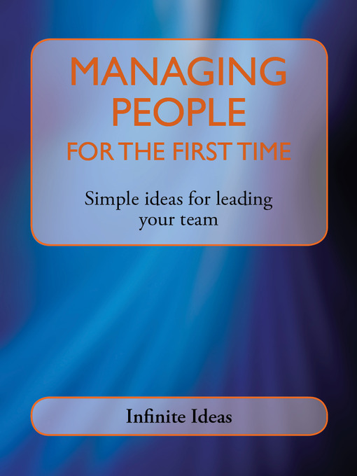 Title details for Managing People for the First Time by Infinite Ideas - Available