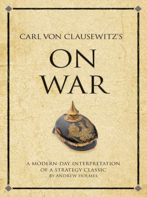 Carl Von Clausewitz S On War Air Force Digital Media Program border=