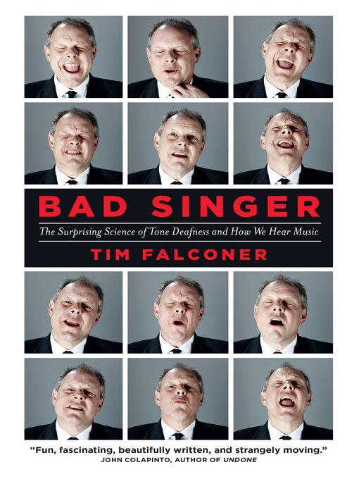 Title details for Bad Singer by Tim Falconer - Wait list