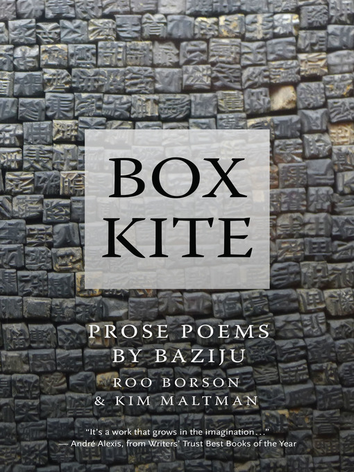 Title details for Box Kite by Kim Maltman - Available