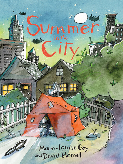 Title details for Summer in the City by Marie-Louise Gay - Available