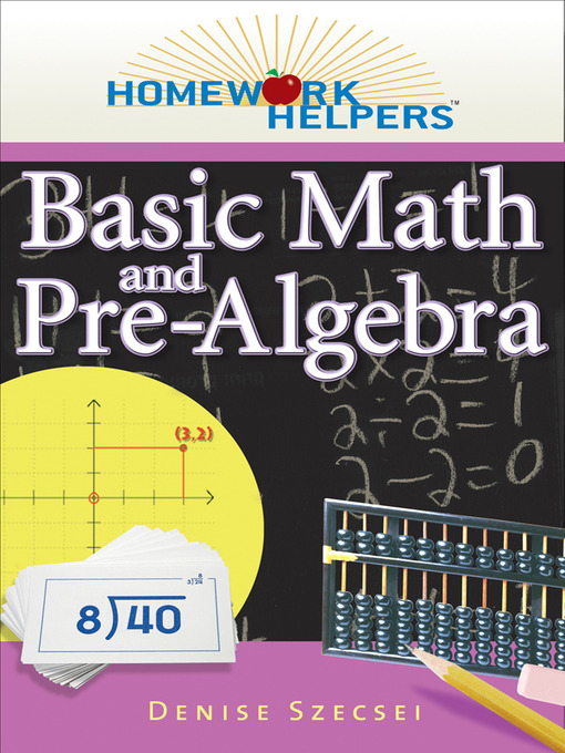Basic Math and Pre-Algebra