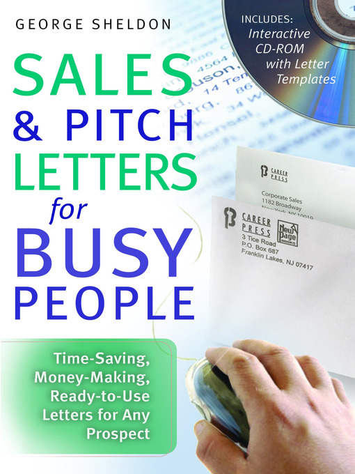 Cover of Sales & Pitch Letters for Busy People