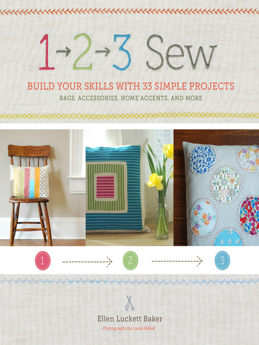 Title details for 1, 2, 3 Sew by Ellen Luckett Baker - Available